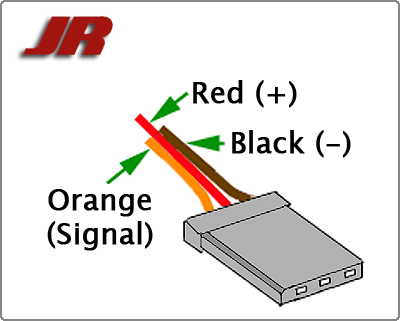 servo wiring information rh fatlion com Wire Color Code Standard Emergency Color Codes